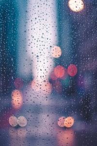 【伤感诗歌】雨下一整晚